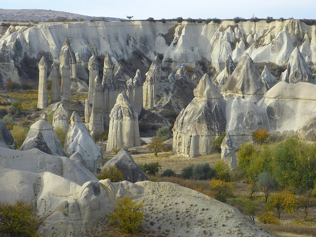 Photo:  fairy-chimneys-tufa-rock-formations cappadocia
